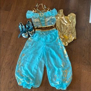 Disney brand Jasmine costume with accessories
